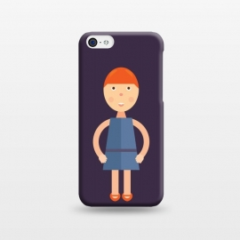 iPhone 5C  little girl standing by TMSarts