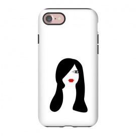 iPhone 8/7  long hair women by TMSarts