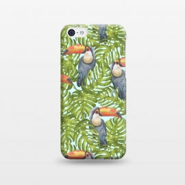 iPhone 5C  Monstera Birds by Creativeaxle