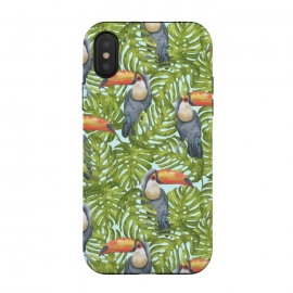 Monstera Birds by Creativeaxle