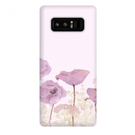 Galaxy Note 8  Rose Gold Poppy Dream by Utart