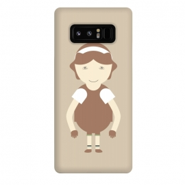 Galaxy Note 8  little brown girl by TMSarts