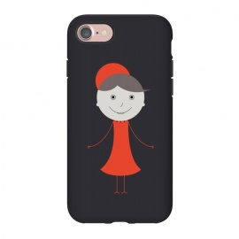 iPhone 8/7  happy girl cartoon by TMSarts