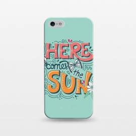 iPhone 5/5E/5s  Here Comes The Sun 001 by Jelena Obradovic
