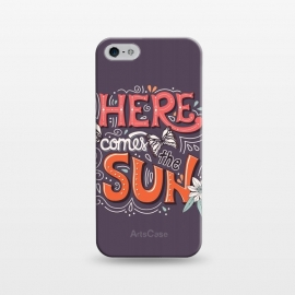 iPhone 5/5E/5s  Here Comes The Sun 002 by Jelena Obradovic