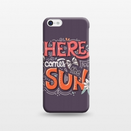 iPhone 5C  Here Comes The Sun 002 by Jelena Obradovic