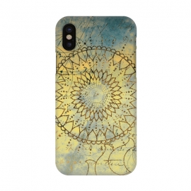 iPhone X  Summer Evening Mandala by Utart