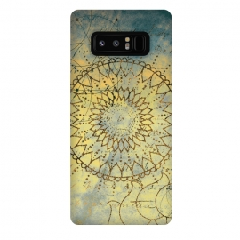 Galaxy Note 8  Summer Evening Mandala by Utart