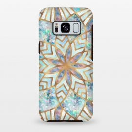 Galaxy S8 plus  Mother of Pearl Mandala by