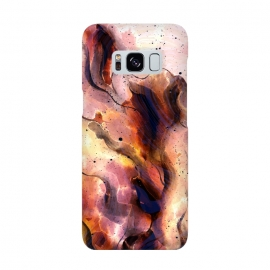 Galaxy S8  Burning Waves by Creativeaxle