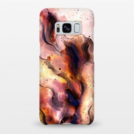 Galaxy S8+  Burning Waves by Creativeaxle