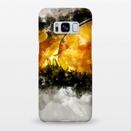 Galaxy S8+  Forest Yellow Mushroom by Creativeaxle