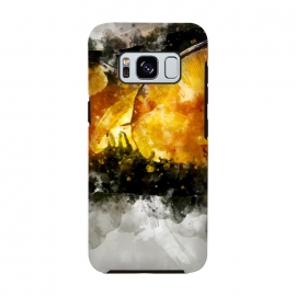 Galaxy S8  Forest Yellow Mushroom by Creativeaxle