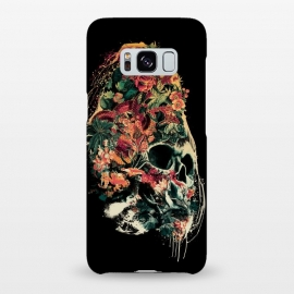 Galaxy S8+  Snake and Skull by Riza Peker (skull,snake,tattoo,art)