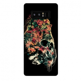 Galaxy Note 8  Snake and Skull by Riza Peker