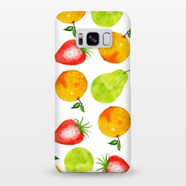 Galaxy S8+  Watercolor Summer Fruits by Bledi