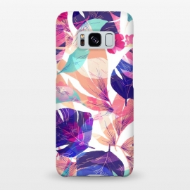 Galaxy S8+  Watercolor summer flowers by Bledi