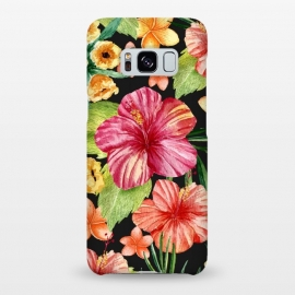 Galaxy S8+  Watercolor summer flowers 11 by Bledi