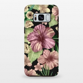 Galaxy S8+  Watercolor summer flowers 15 by Bledi