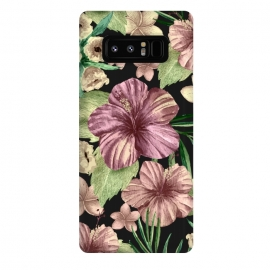 Galaxy Note 8  Watercolor summer flowers 15 by Bledi