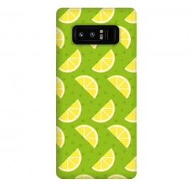 Galaxy Note 8  Lemon Pattern by