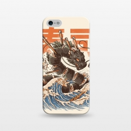 iPhone 5/5E/5s  Great Sushi Dragon  by Ilustrata