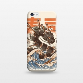 iPhone 5C  Great Sushi Dragon  by Ilustrata