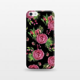 iPhone 5C  Rose in Paradise Blanck by Rossy Villarreal