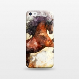 iPhone 5C  Excited Horse by Creativeaxle