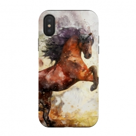 iPhone Xs / X  Excited Horse by