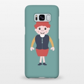 Galaxy S8+  vintage school girl by TMSarts