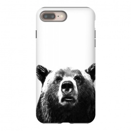 Black and White Bear by Alemi