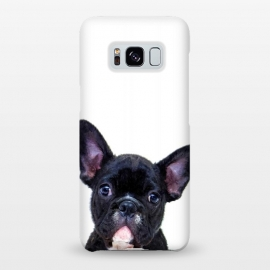 Galaxy S8+  French Bulldog Portrait by Alemi