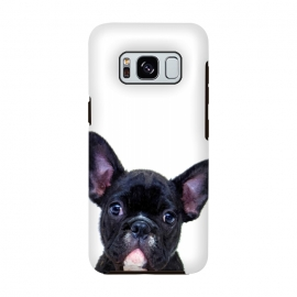 Galaxy S8  French Bulldog Portrait by Alemi