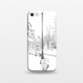iPhone 5C  Winter Snow City by Alemi
