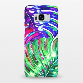 Galaxy S8+  Colorful Monstera Illustration by Alemi