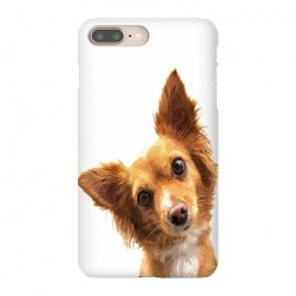 iPhone 8/7 plus  Curios Dog Portrait by