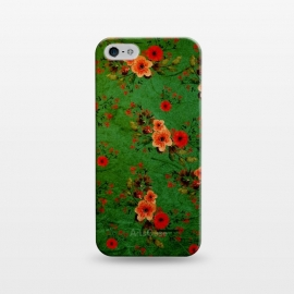 iPhone 5/5E/5s  Vintage Flowers by Rossy Villarreal