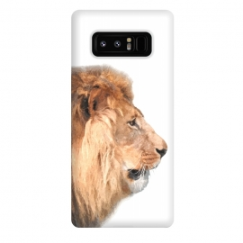 Galaxy Note 8  Lion Profile by Alemi