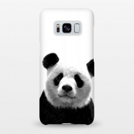 Galaxy S8+  Black and White Panda Portrait by Alemi