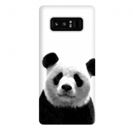 Galaxy Note 8  Black and White Panda Portrait by Alemi