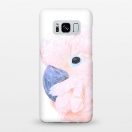 Galaxy S8+  Pink Cockatoo by Alemi