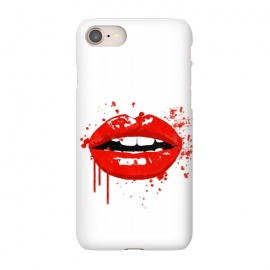 iPhone 8/7  Red Lips Illustration by Alemi