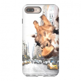 Selfie Giraffe in NYC by Alemi