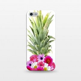 iPhone 5/5E/5s  Pineapple Flowers by Alemi