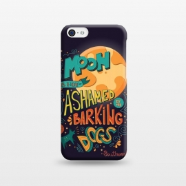 iPhone 5C  The moon is not ashamed by the barking of dogs by Jelena Obradovic