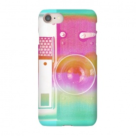 iPhone 8/7  Colorful pastel vintage camera by Oana