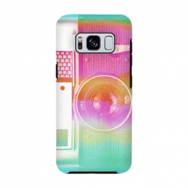 Galaxy S8  Colorful pastel vintage camera by Oana