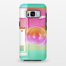 Galaxy S8+  Colorful pastel vintage camera by Oana