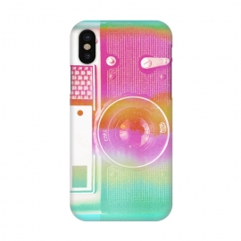 Colorful pastel vintage camera by Oana